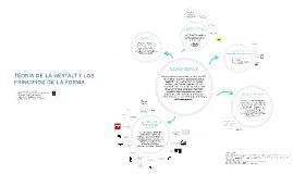 Copy of TEORÍA DE LA GESTALT Y LOS PRINCIPIOS DE LA FORMA