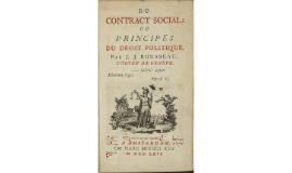 Du contract social - Jean Jacob Rousseau