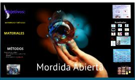 Prevalencia de Mordida Abierta