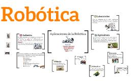 Aplicaciones de la Robotic