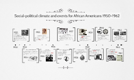 Social-political climate and events for African Americans 19