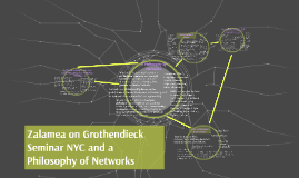Zalamea NYC and a Philosophy of Networks