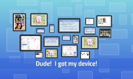 Copy of Student Device Orientation