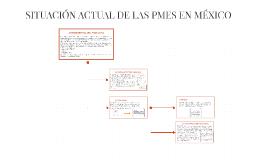 SITUACIÓN ACTUAL DE LAS PMES EN MÉXICO