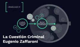 La Cuestión Criminal