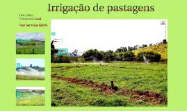 Irrigação de pastagens