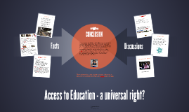 Access to Education - a universal right?