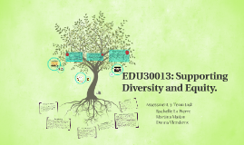 EDU30013: Supporting Diversity and Equity.