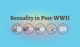 Sexuality in Post WW2