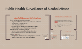 Public Health Surveillance of Alcohol Misuse