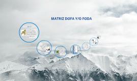MATRIZ DOFA Y/O FODA