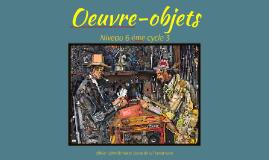 Oeuvre-objets
