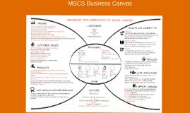 MSCS Business Canvas
