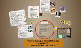 Chapter 11 Flowering of the Middle Ages