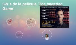5W´s de la película ´The Imitation Game´