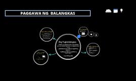Copy of PAGGAWA NG  BALANGKAS