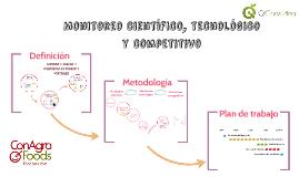 Monitoreo científico, tecnológico y competitivo - CAF