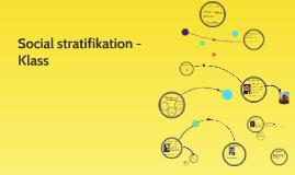 Social stratifikation och klassindelning