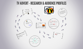 TV ADVERT - RESEARCH & AUDIENCE PROFILES