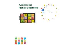 Avances en el Plan de Desarrollo