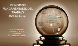 PRINCIPIOS FUNDAMENTALES DE TRABAJO