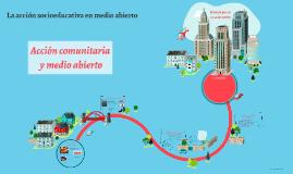 Copy of La acción socioeducativa en medio abierto