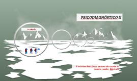 PSICODIAGNÓSTICO II