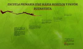ESCUELA PRIMARIA JÓSE MÁRIA MORELOS Y PAVÓN. BUENAVISTA