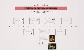 Histoire de la Correspondance