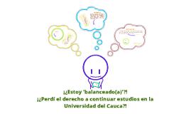 Capítulo 8. Reglamento Estudiantil - Universidad del Cauca