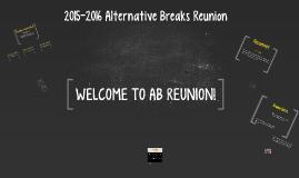 2015-16 Alternative Breaks Reunion
