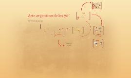 Arte argentino de los 90