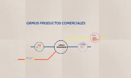 ORMUS PRODUCTOS COMERCIALES