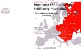 Dominacja ZSRR w Europie