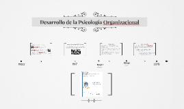 Desarrollo de la Psicología Organizacional
