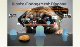 Waste Management Disposal