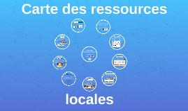 Carte des ressources locales