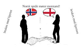 Norsk vs. engelsk