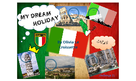 my dream holiday in paris Going on holiday - learn english words for holiday - speak english with duncan - turkey - duration: 37:01 speak english with misterduncan 208,689 views.