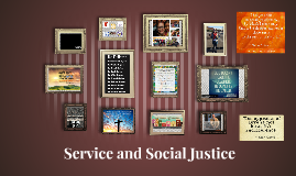 Service and Social Justice