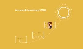 Vernieuwde bovenbouw VMBO beroepsgericht