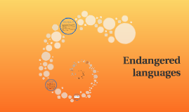Copy of Endangered languages