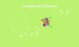La météo de la France