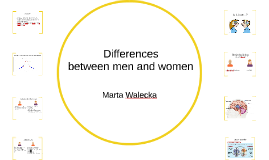Psychological differences between men and women