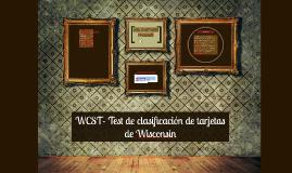 Copy of WCST- Test de clasificación de tarjetas de Wisconsin