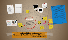 Principles of Distance Education