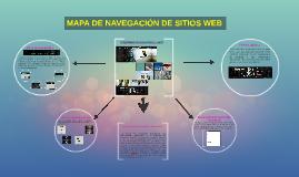 MAPA DE NAVEGACIÓN DE SITIOS WEB