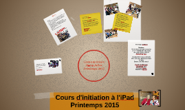 Copy of Cours d'initiation à l'iPad