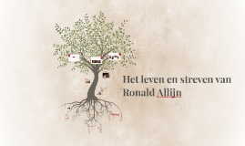 Het reilen en zeilen van Ronald Allijn
