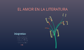 Copy of EL AMOR EN LA LITERATURA